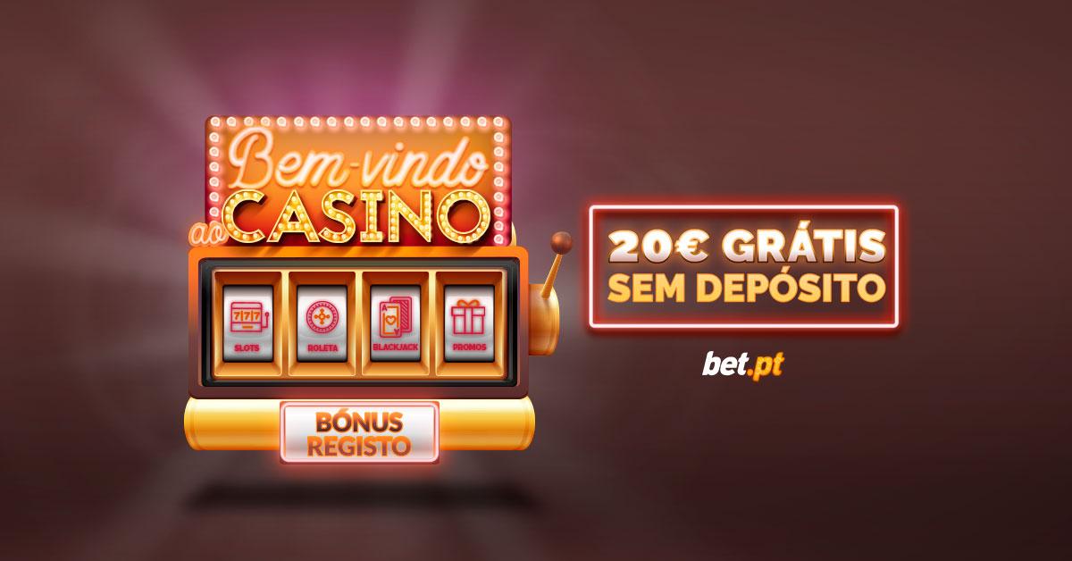 Casino Betpt oferece 20€ grátis, sem depósito!