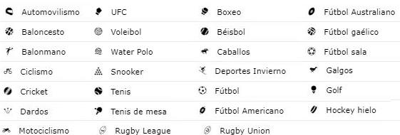 Variedad de mercados de casas de apuestas deportivas Argentina