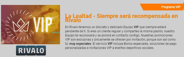 Rivalo Argentina - club vip lleno de promociones especiales!