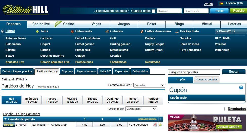 diseño web de las casas de apuestas argentina